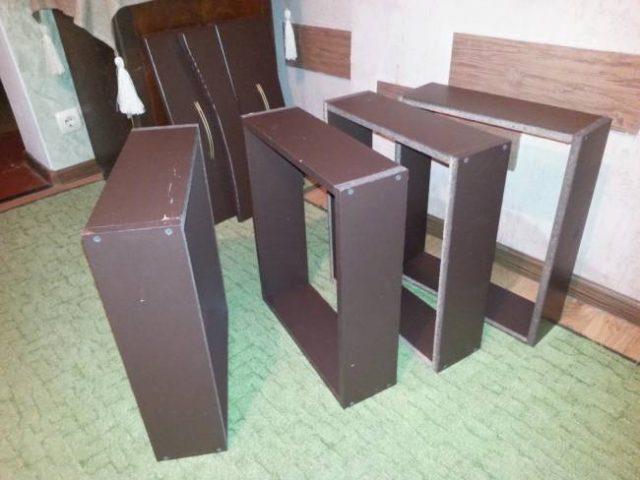 Собранные ящики