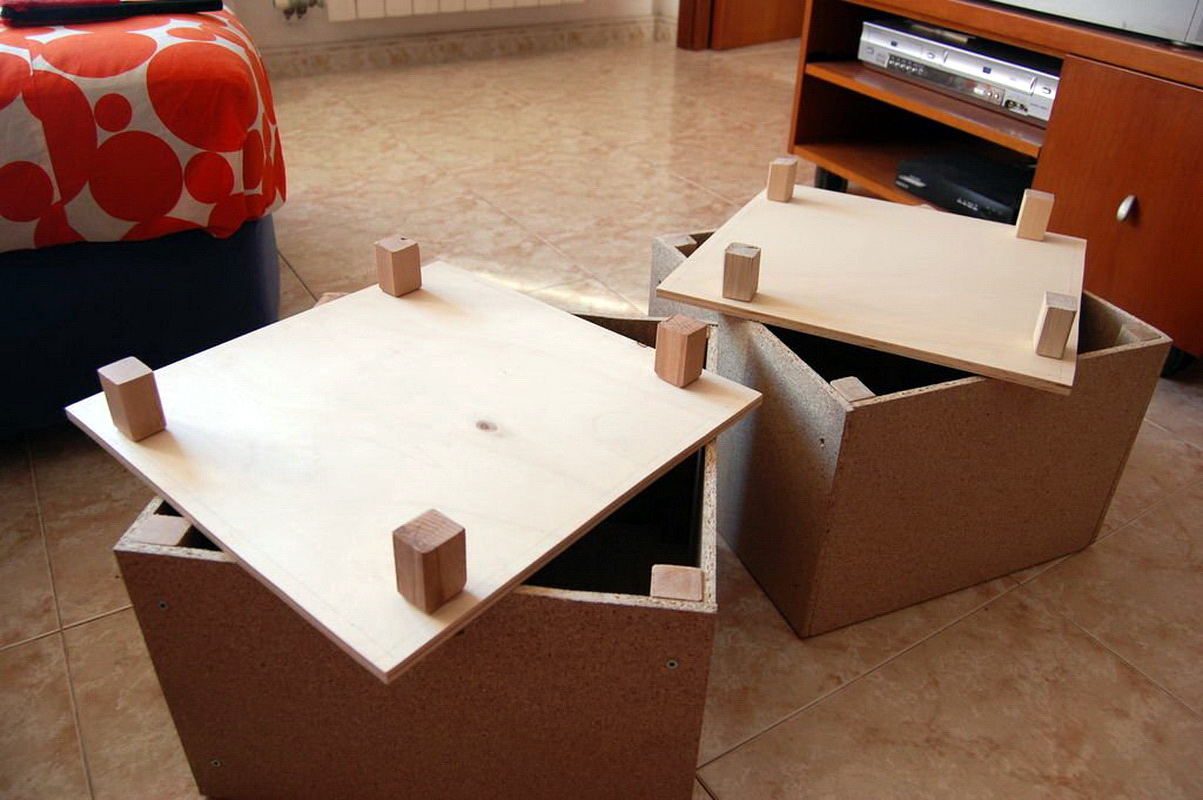 Как сделать крышку для пуфика 645