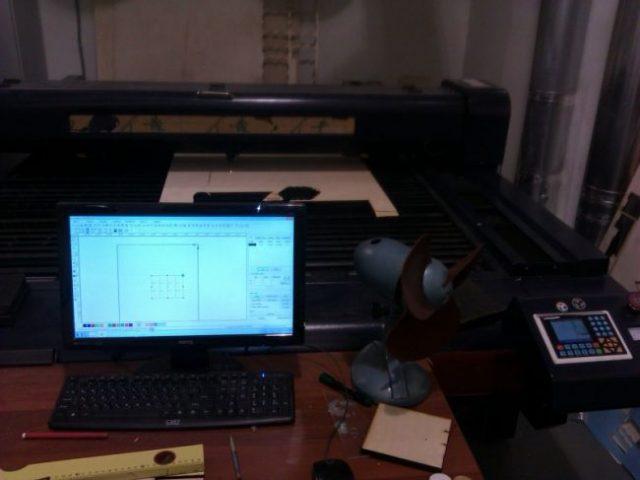 Нарезка деталей с помощью лазерного станка