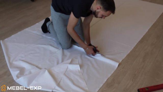 Раскрой ткани