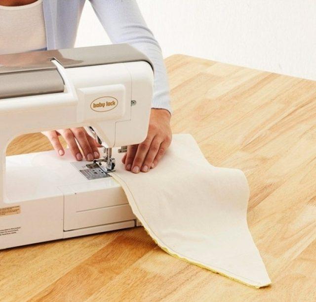 Сшивание лепестков