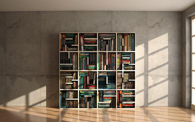 Теперь одних только книг недостаточно - read your bookcase!