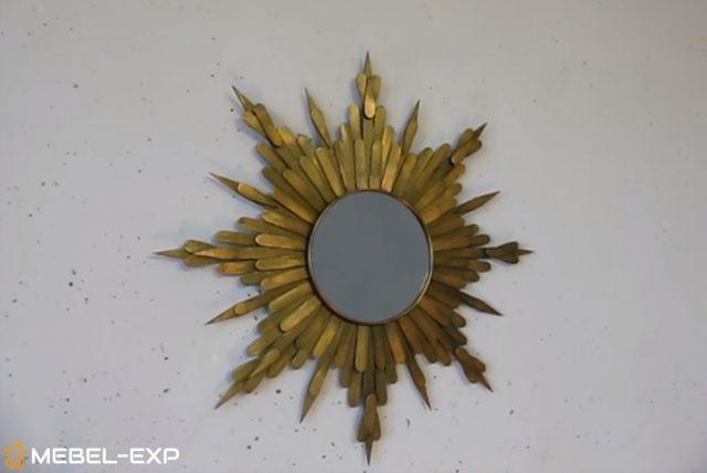 Готовое декорированное зеркало