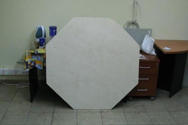 Изготовление восьмиугольного покерного стола