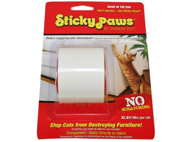 Липкая лента для кошек Sticky Paws