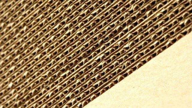 Плотный гофрированный картон