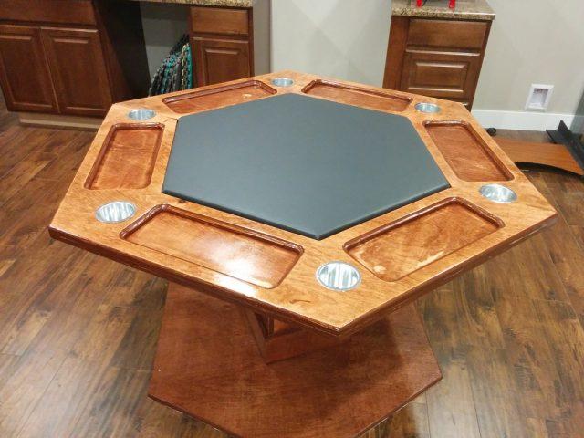 Шестиугольный покерный стол