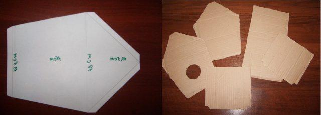 Создание заготовок из картона