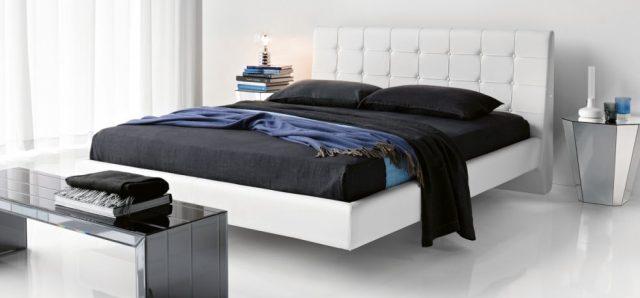 Фото белой летающей кровати