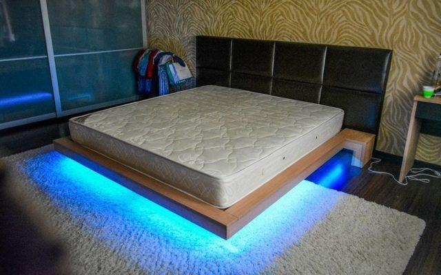 Фото парящей кровати