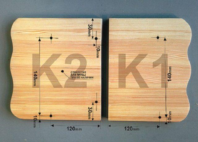 Razmetka-detaley-kryshi-640x458 Как сделать скворечник своими руками – 7 мастер-классов чертежи!